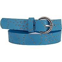 EANAGO - Cinturón infantil para niña (guardería y niños primarios, 5-10 años, cadera de 57-72cm), cinturón 65 cm, con…