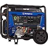 Westinghouse Outdoor Power Equipment WGen9500 Heavy Duty Portable Generator 9500 Rated 12500 Peak Watts, Gas Powered, Electri