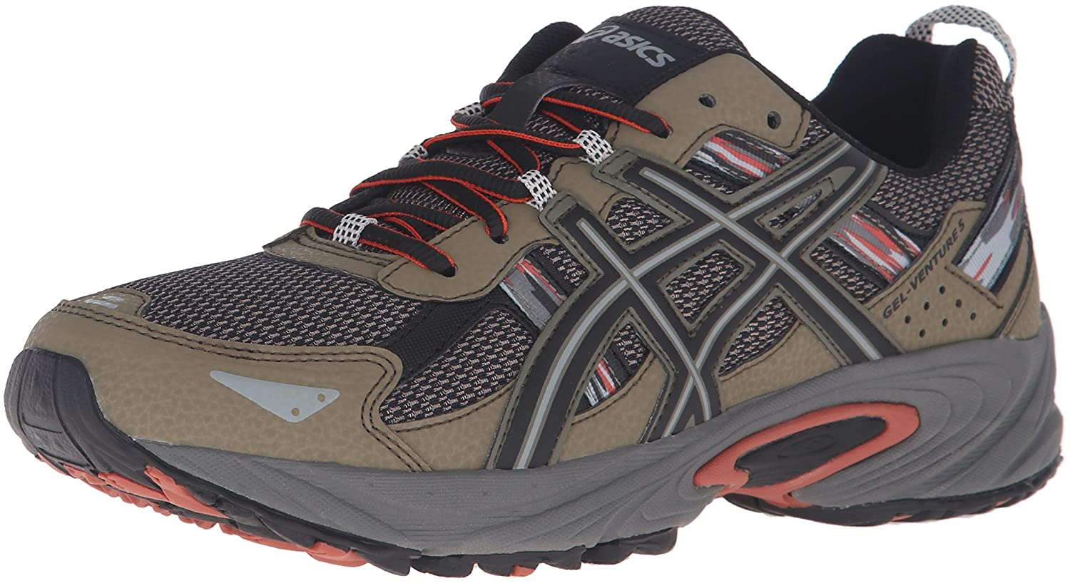 ASICS Men's Gel-Venture 5 5 Trail Runner, B07R3Y4XBY Dusky Green Runner,/Black/Cinnamon, 9 M US [並行輸入品] B07R3Y4XBY, 京たけのこ伝統栽培を守る会Shop:bc984447 --- anime-portal.club