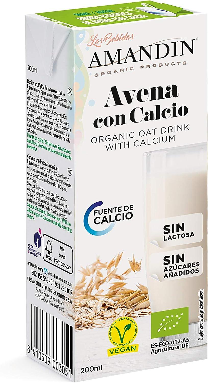 Amandin Amandín Bebida Ecológica De Avena Con Calcio 200 Ml. 200 ...