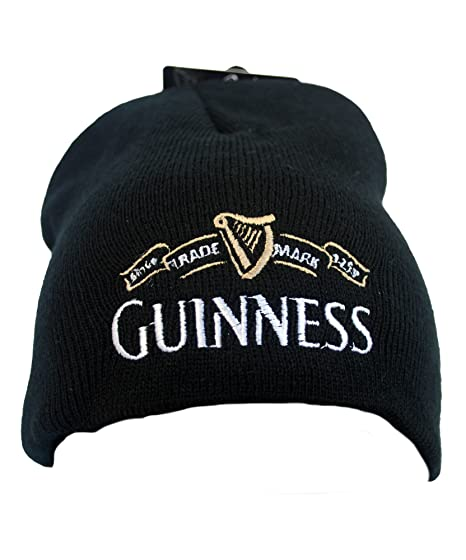 5091fffe5490dc Image Unavailable. Guinness Beanie Hat With White Guinness Trademark Logo  ...
