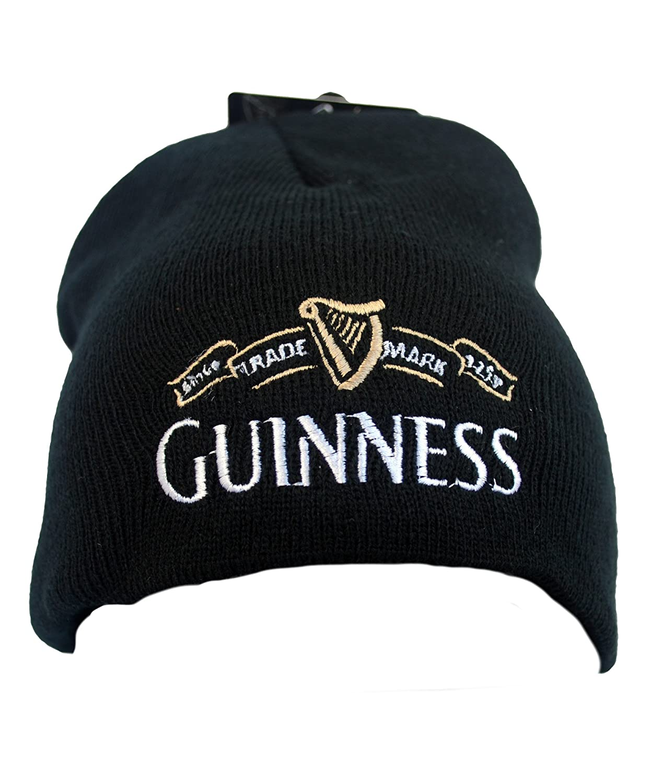 Guinness Official Merchandise Trademark Knitted Hat Cappello da uomo