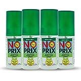 BOROLINE Noprix Your Personal Mosquito Repellent Spray, 30 ml x 4 Pieces