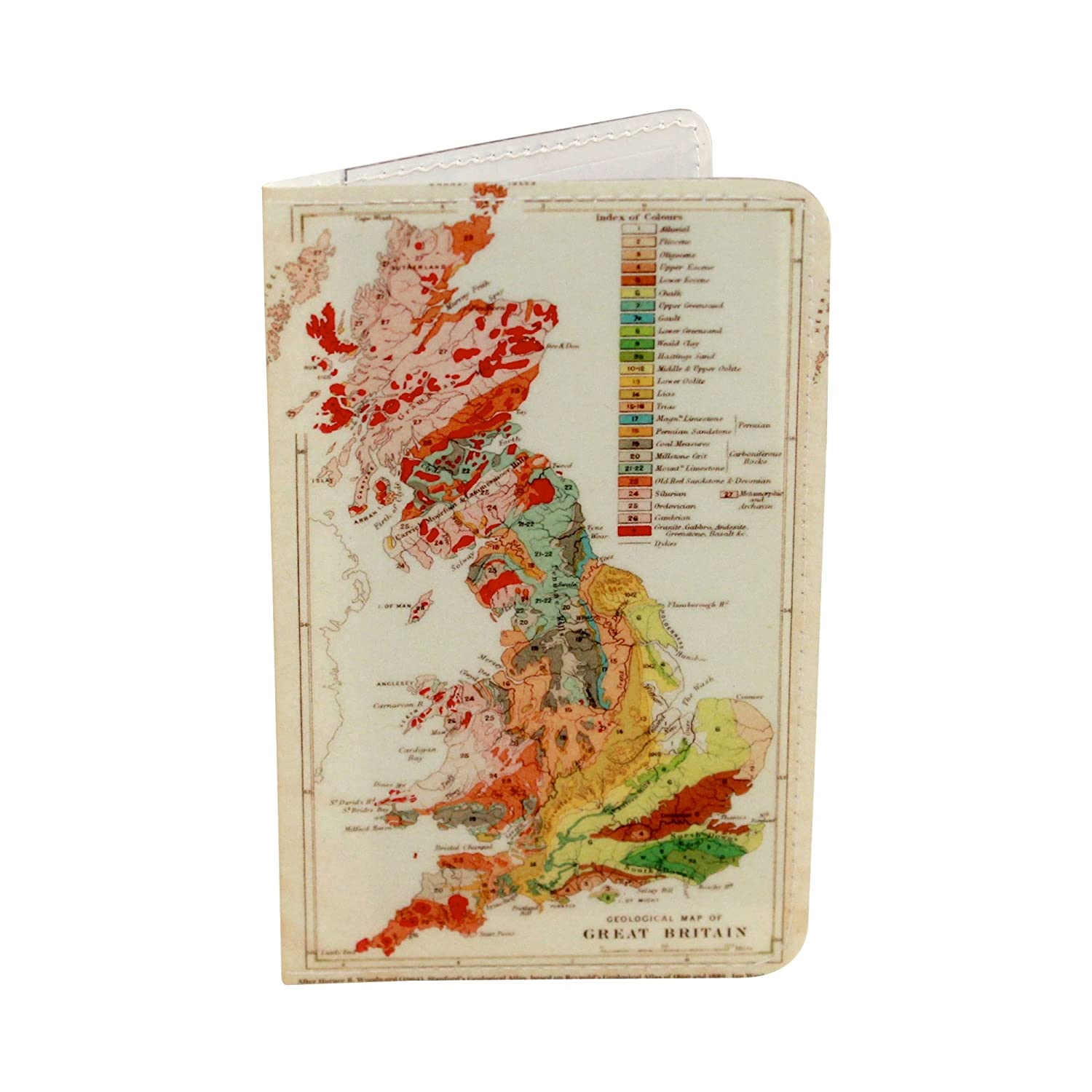 Great Britain Map Gift Card Holder & Wallet GCH-2301A