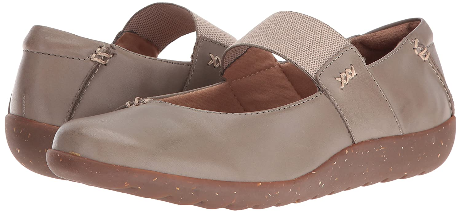 CLARKS Women's 6 Medora Elie Mary Jane Flat B01FGOTX2U 6 Women's B(M) US|Sage Leather 3dc333