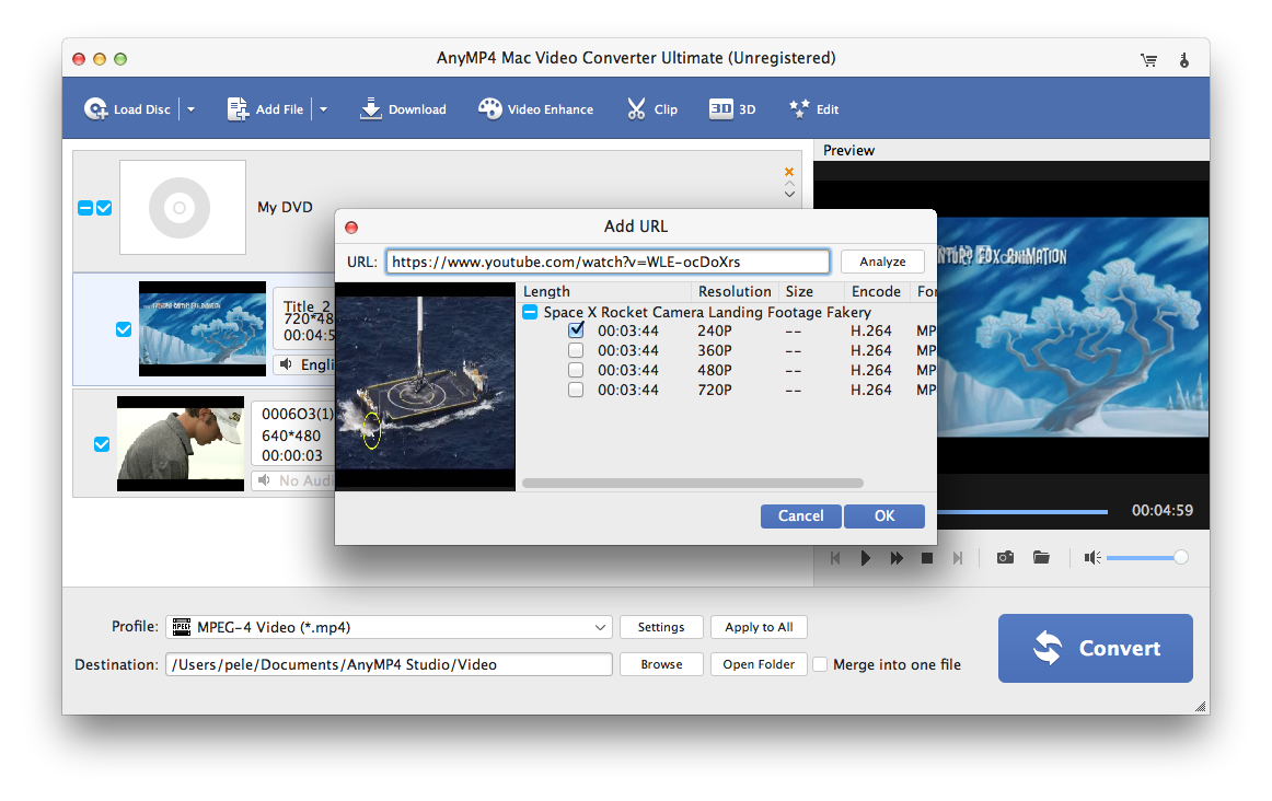 Amazon com: AnyMP4 Video Converter for Mac Ultimate Lifetime