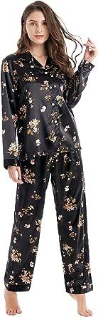 Tony & Candice Women's Satin Pyjama Set Sleepwear/Loungewear