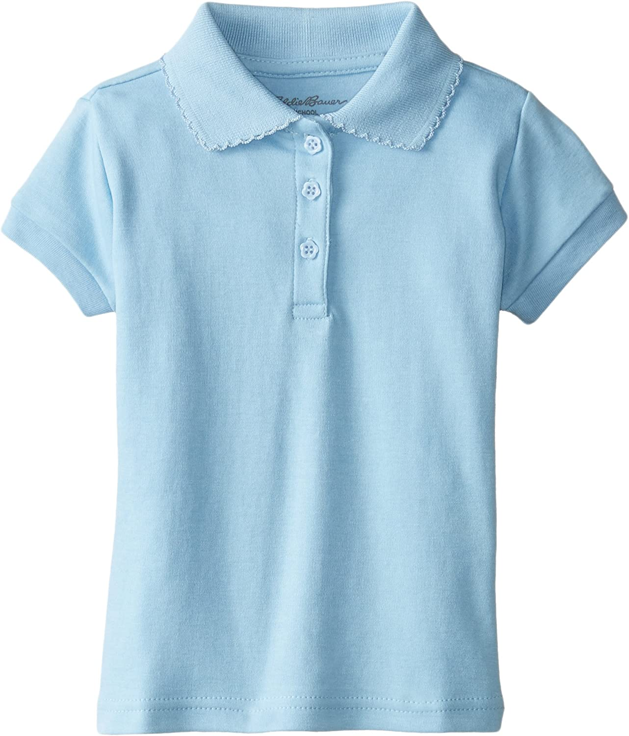 More Styles Available Eddie Bauer Girls Polo Shirt