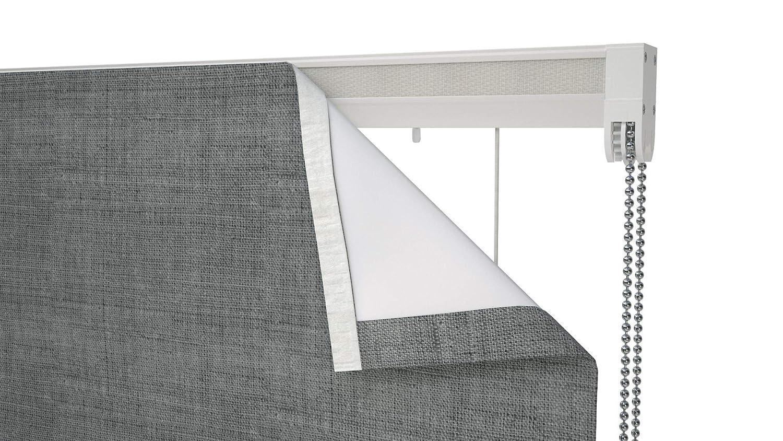 White 150cm Aluminium headrail CONNECT Speedy Roman blind Cassette Kit
