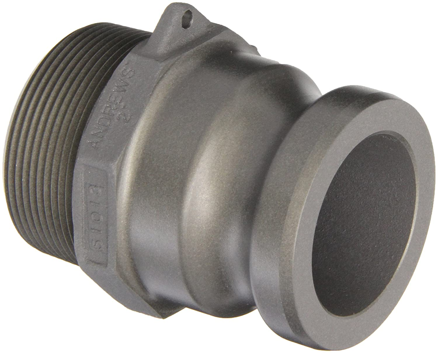 Dixon Valve 200-F-ALH Aluminum Hard Coat Boss-Lock Type F Cam and Groove Fitting 2 Male Adapter x 2 NPT Male 2 Male Adapter x 2 NPT Male Dixon Valve /& Coupling