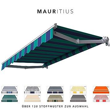 Amazon De Broxsun Gelenkarmmarkise Mauritius Breite 1 9 Bis 5m