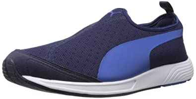 1c248c2b6980 Image Unavailable. Image not available for. Colour  Puma Men s FTR TF-Racer  Slip-on Peacoat-Strong Blue Mesh Running Shoes