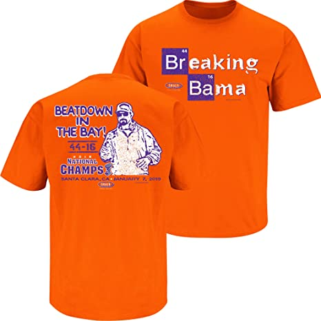Football Bama Orange Clemson Apparel Breaking Clothing Amazon com sm-5x 2018 Fans Smack T-shirt|4 Lessons From Tom Brady And Bill Belichick On Leadership