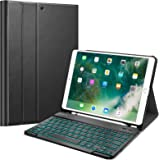 """Fintie Keyboard Case with Pencil Holder for iPad Air 3 10.5 2019/iPad Pro 10.5"""" 2017- SlimShell Stand Cover w…"""