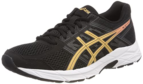 Asics Women's Gel-Contend 4 Competition Running Shoes, Black (Black/Apricot  Ice