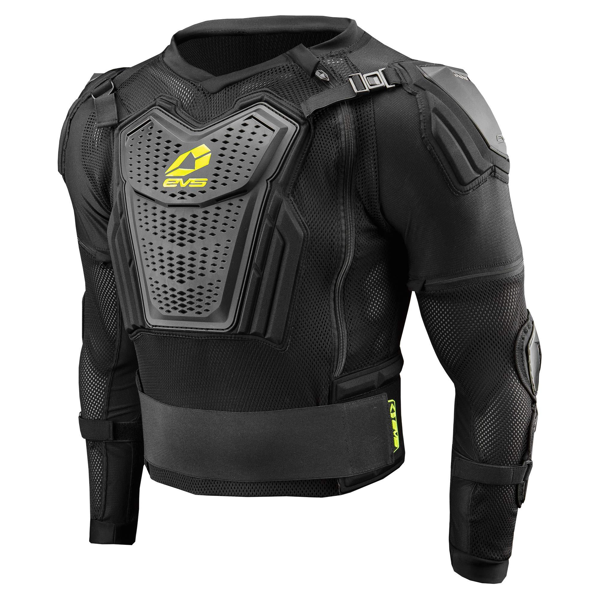 EVS Sports Men's Comp Suit (Black, X-Large)