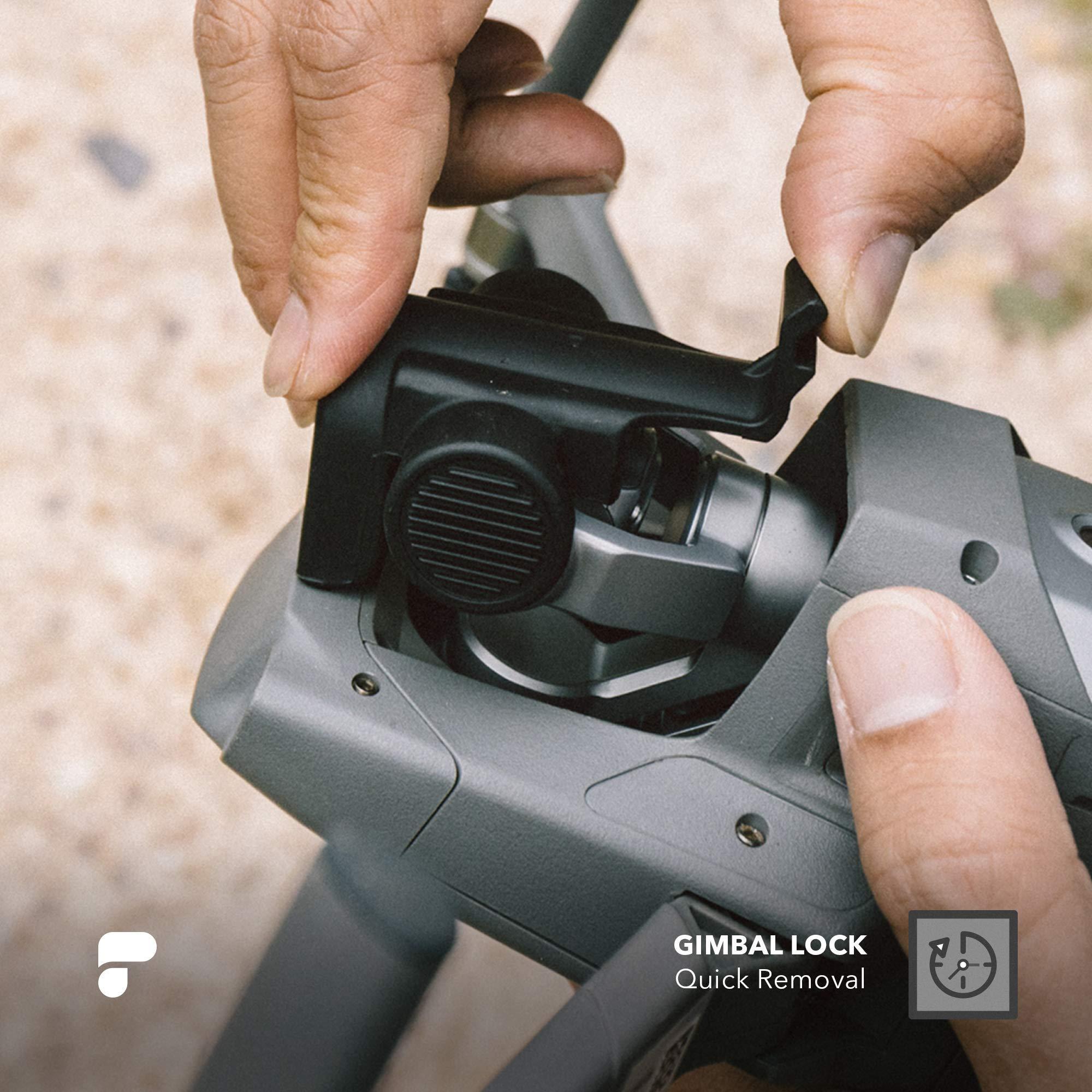 PolarPro Gimbal Lock/Lens Cover for DJI Mavic 2 Pro by PolarPro (Image #1)