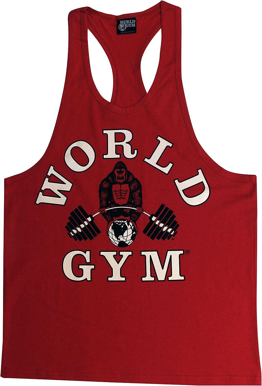 World Gym W311 Workout Racerback Tank Top