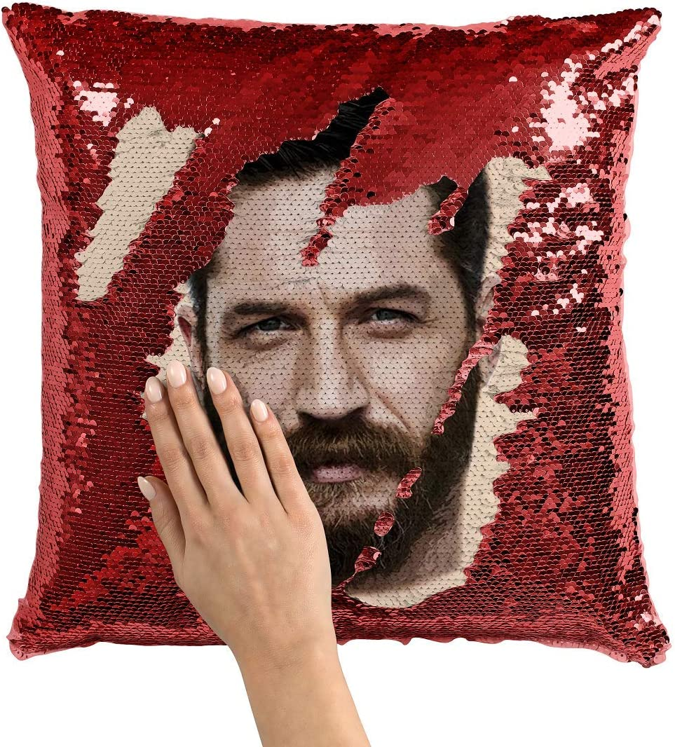 Tom Hardy Zippered Cushion Cover Pillow
