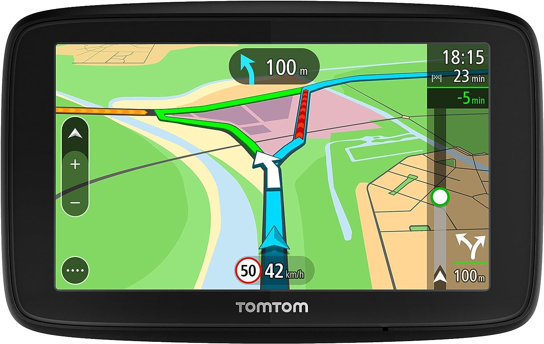 Tomtom Via 53 12 7 Cm Sat Nav Mit Lebenslanger Europäische Karte Updates über Wlan Lifetime Tomtom Traffic Freisprechen Sprachsteuerung Navigation