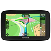 TomTom Car Sat Nav VIA 53, 5 Inch with Handsfree Calling, Updates viaWi-Fi, Lifetime Traffic via Smartphone and EU Maps, Smartphone Messages, Capacitive Screen