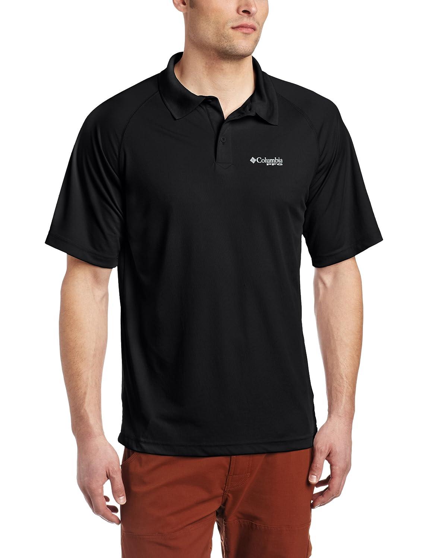 Columbia Mens Terminal Tackle Short-Sleeve Polo Shirt