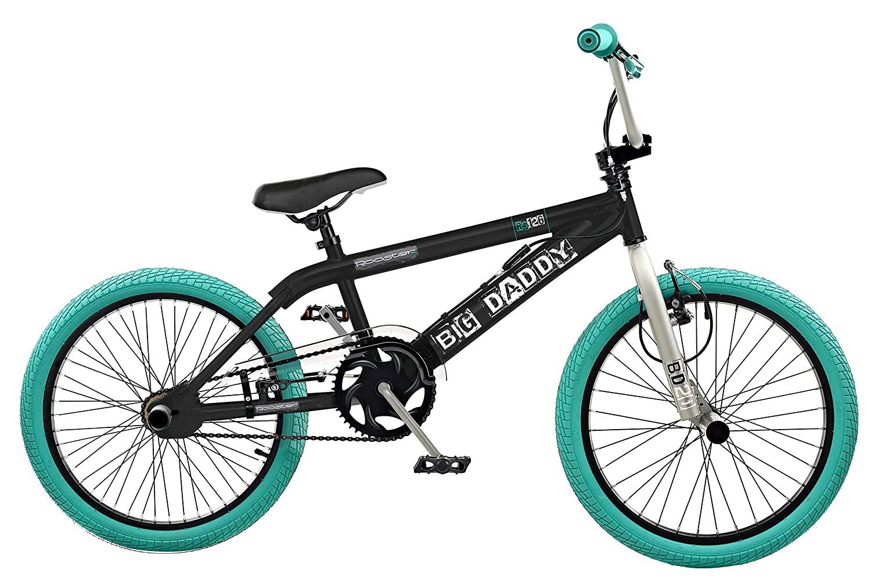 Rooster 2016 Big Daddy Kids 20 Wheel Freestyle BMX Bike Bicycle Black