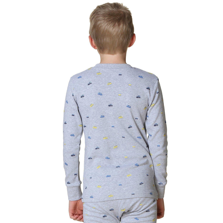 Leo/&Lily Big Boys Kids Cotton Cars Printed Pajamas Sets LLBP004-8-White-$P
