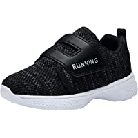 Powtech Kids Shoes Lightweight Slip On Breathable Running Walking Tennis Shoes for Girls Boys 12 Toddler to 5 Big Kid