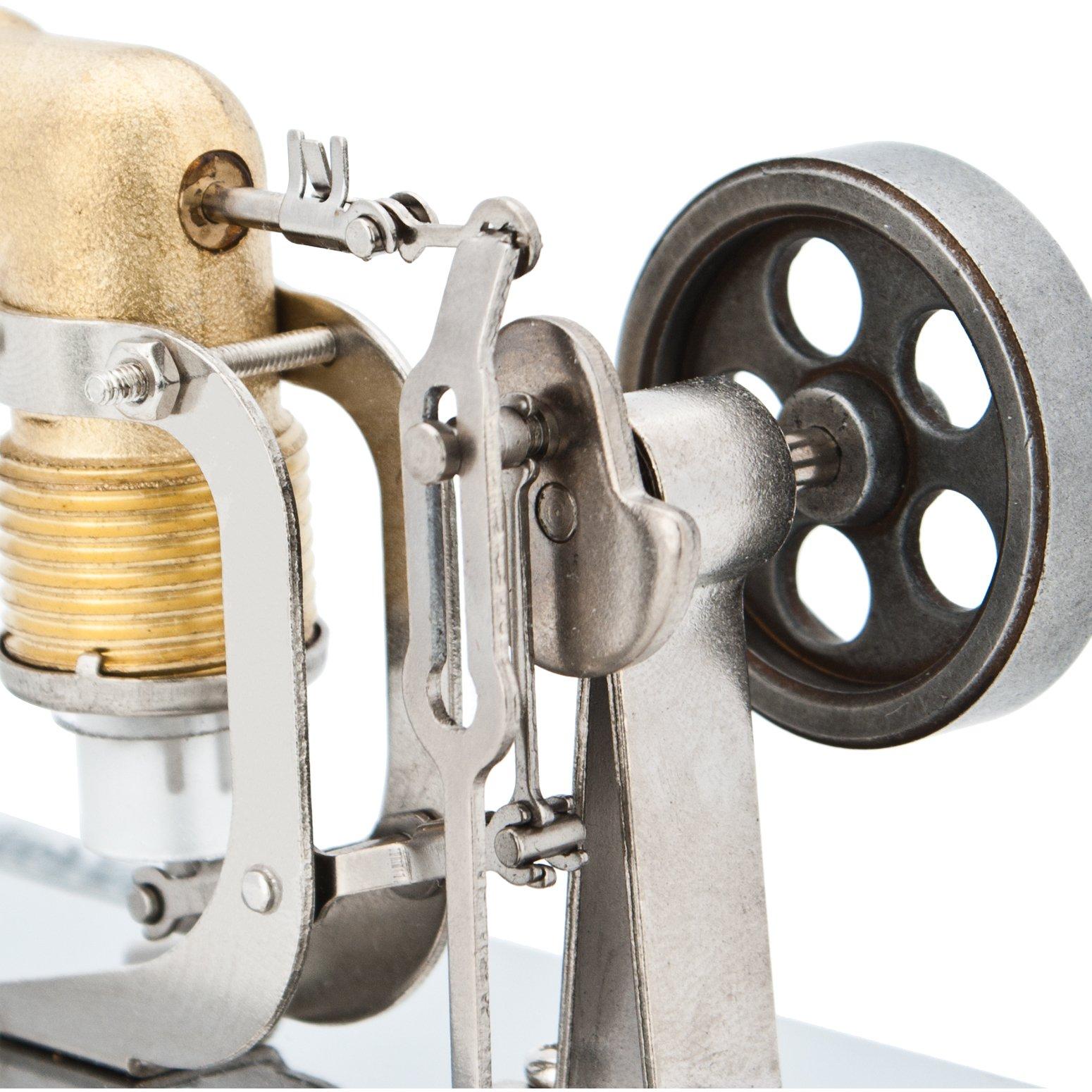 DjuiinoStar Mini Hot Air Stirling Engine: A High Performance Pocket-Sized Working Model by DjuiinoStar (Image #6)