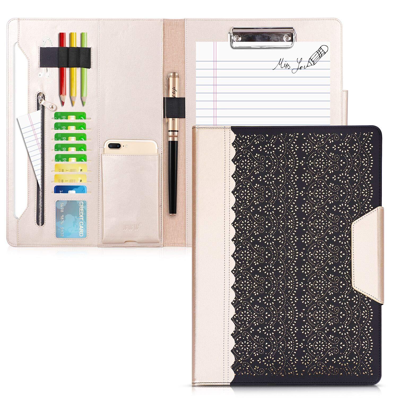Padfolio cartera A4/malet/ín Padfolio color Negro