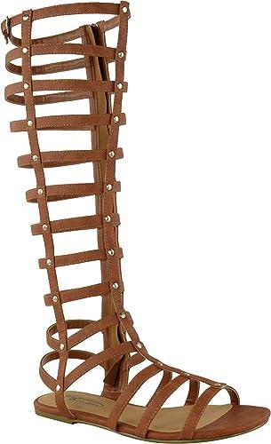Permitirse Mojado Desigualdad  sandalias romanas altas - Tienda Online de Zapatos, Ropa y Complementos de  marca