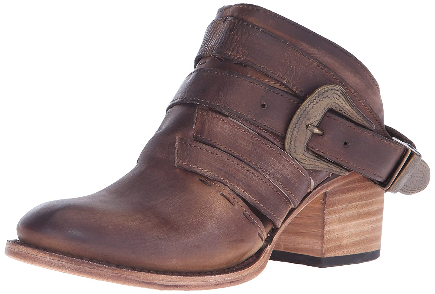 Freebird Women's Lucky Mule, Tan 7 M US
