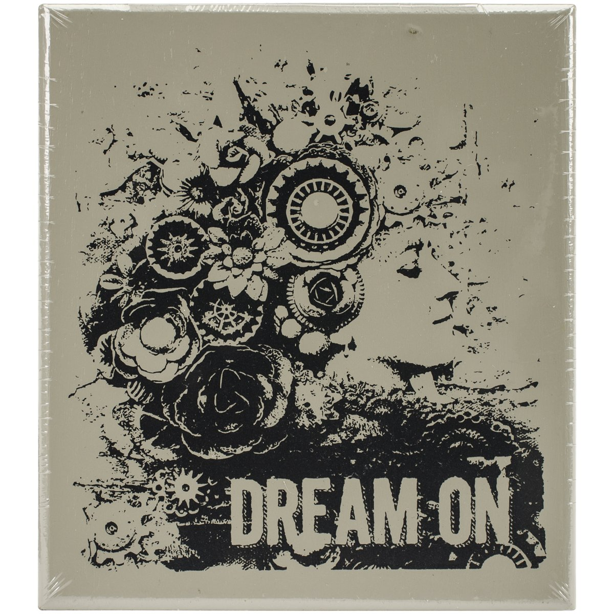 Prima Marketing 962142 Finnabair Wood Mounted Stamps 2.9''X3.4''-Dream On by Prima Marketing