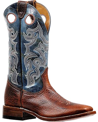 c460076eee0 Amazon.com | Boulet Men's Puma Turqueza Stockman Cowboy Boot Square ...