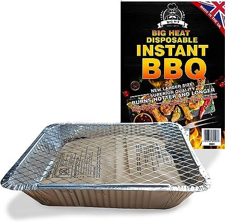Acheter en ligne Barbecue Jetable avec 500 g de charbon de bois
