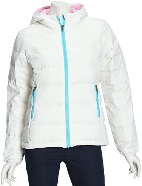 Roxy XGWJK605 Winter Sun - Abrigo para mujer gris Antique White Talla:small