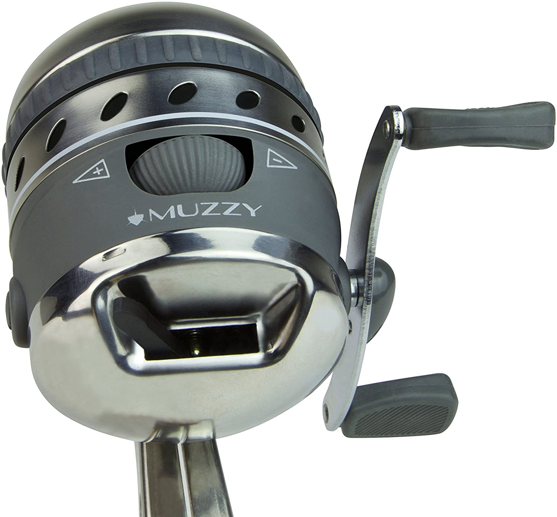 Best Bowfishing Reel: Muzzy Bowfishing 1069 XD Pro Spin Style Reel
