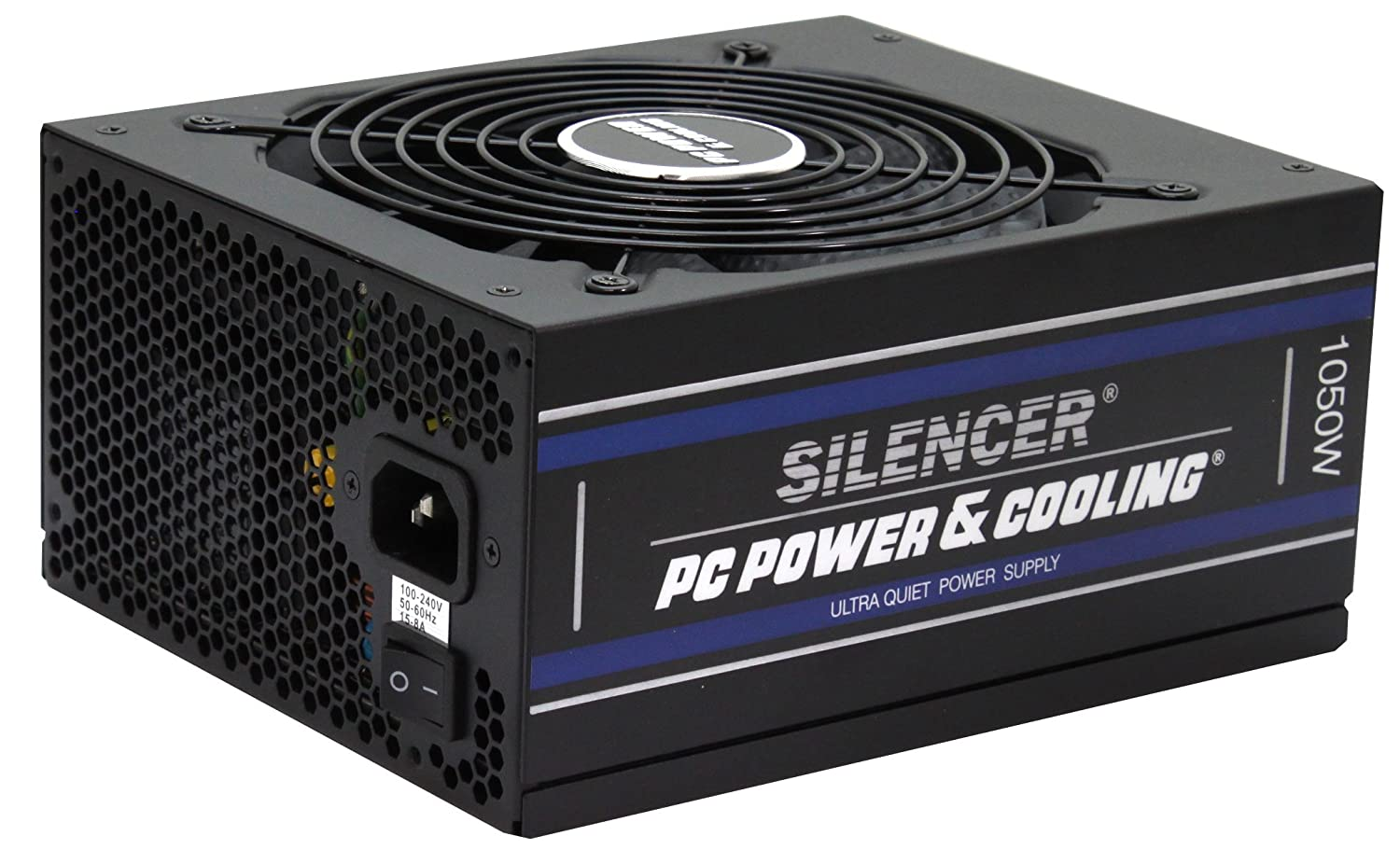 PC Power & Cooling Silencer Series 1050 Watt 80Plus Platinum Fully-Modular Ultra Quiet ATX PC Power Supply FPS1050-A5M00