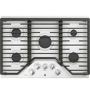 Gas Stove Cooktop 4 Italy Sabaf Sealed Burners NG//LPG Convertible in Stainless Steel EMPV-24GC4BA Empava 24 in