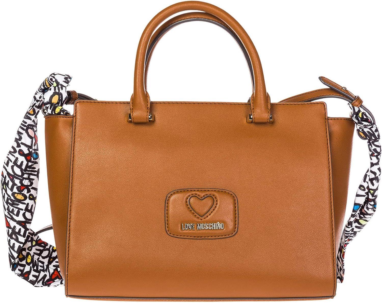 Borsa Donna 2 manici Quadrata con Foulard   Love Moschino