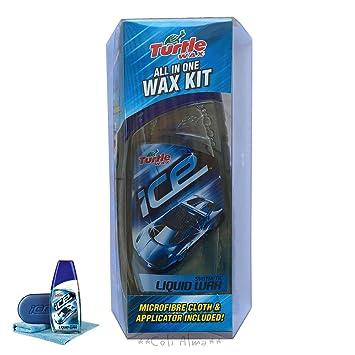 Turtle Wax Ice Synthetic Liquid Wax Polish Kit