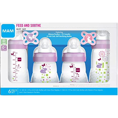 Amazon.com: MAM Set de regalo Feed & Soothe con ...