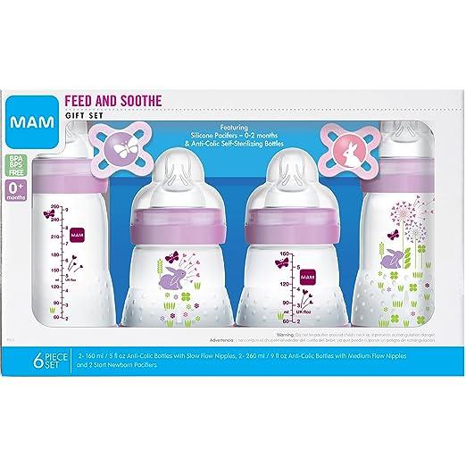 Amazon.com: MAM Set de regalo Feed & Soothe con ...