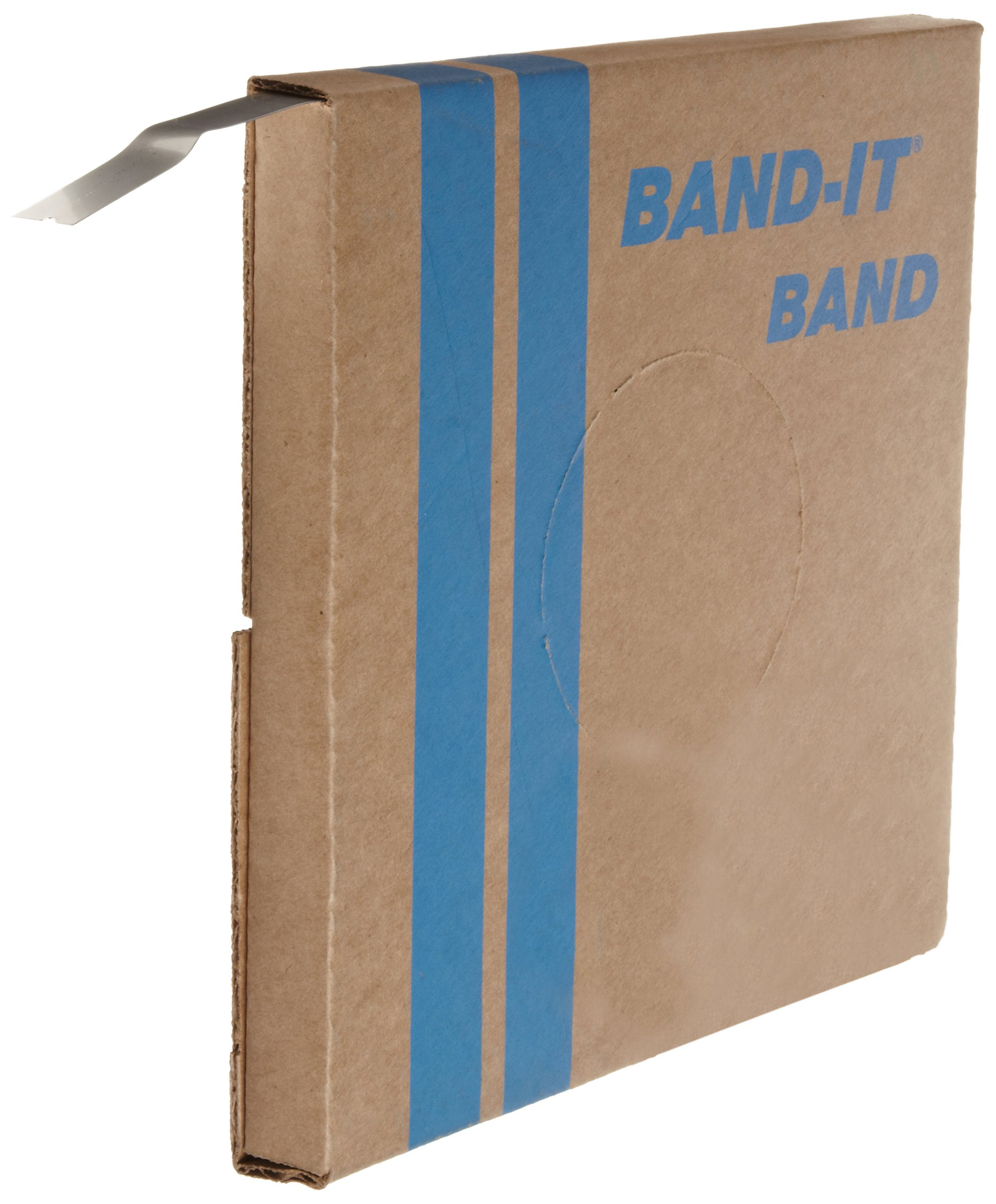 BAND-IT VALU-Strap Band C13699, 200/300 Stainless Steel, 3/4'' Wide x 0.015'' Thick (100 Foot Roll) by Band-It