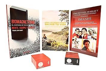 Kit Recalibración Biomagnética (3 Libros y 10 Imanes) para Terapia con Imanes para el