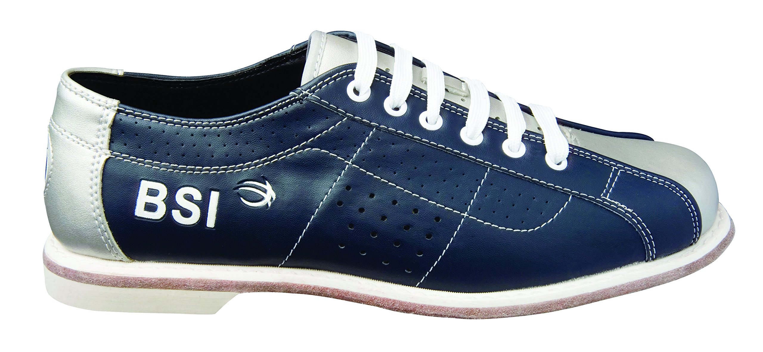 BSI Dual Size Rental Shoes, Blue/Silver, 10.5
