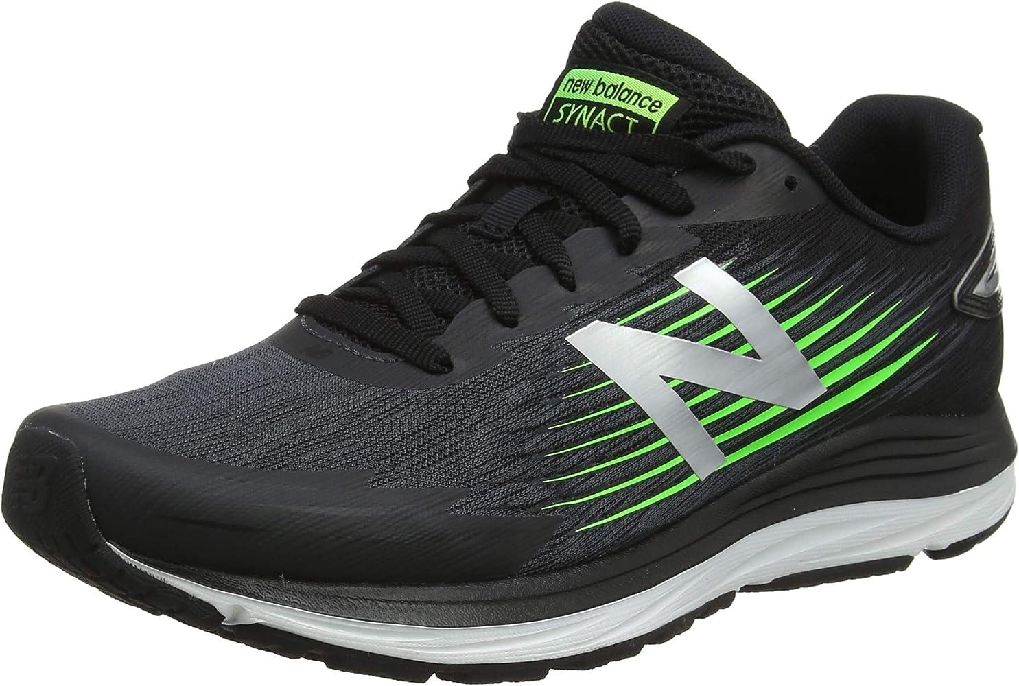 New Balance Synact, Zapatillas de Running para Hombre, Negro ...
