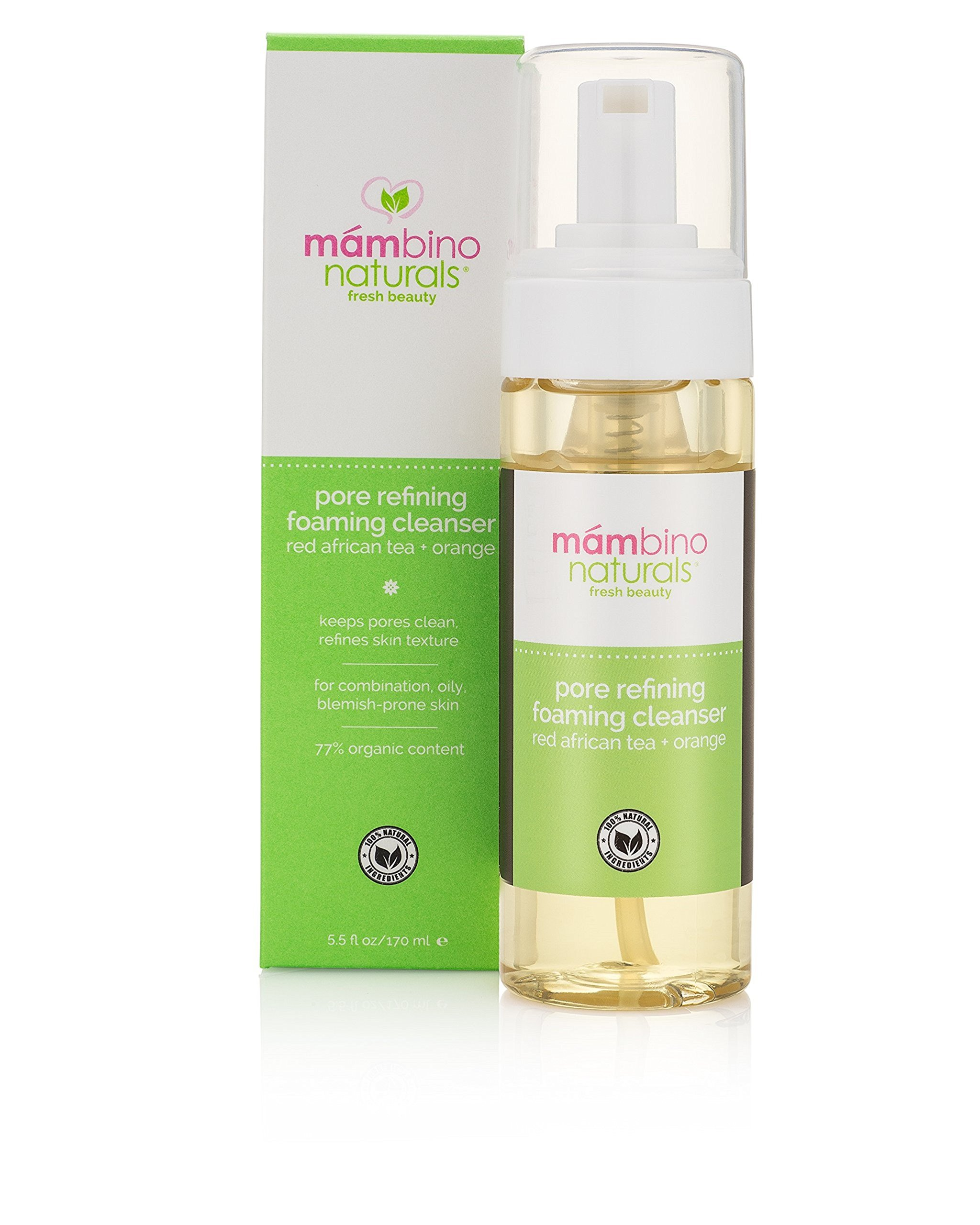 Mambino Organics Natural Anti Aging Fresh Face Balancing Moisturizer - 2 Oz, 3 Pack Nu-Pore, Hydrating Makeup Remover, Coconut Essence, 20 Wipes(pack of 6)