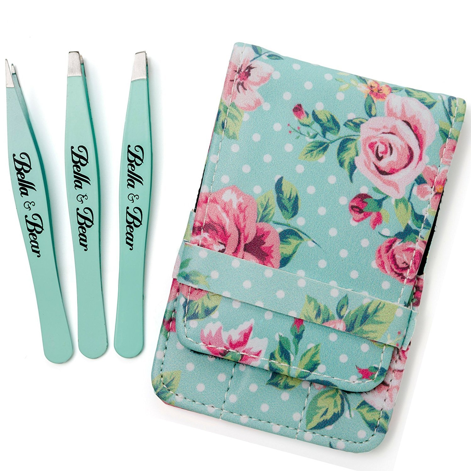 Eyebrow Tweezers by Bella and Bear - The Tweezers Set for Professional Shaping by Bella and Bear (Image #6)